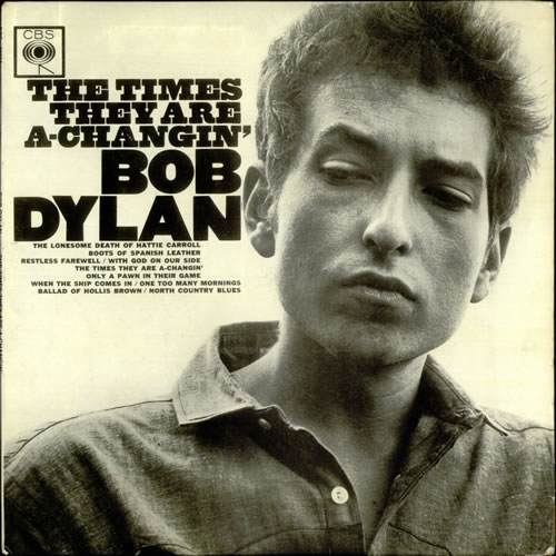 Bob Dylan The Times They Are A-Changin' - EX vinyl LP album (LP record) UK DYLLPTH533468