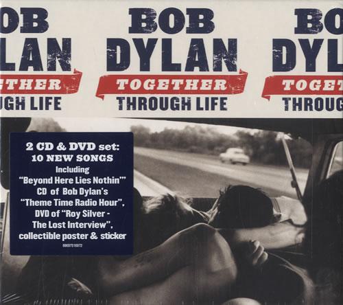 Bob Dylan Together Through Life - Sealed 3-disc CD/DVD Set UK DYL3DTO465912