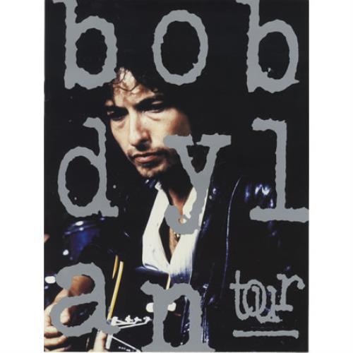 Bob Dylan Tour tour programme UK DYLTRTO23008