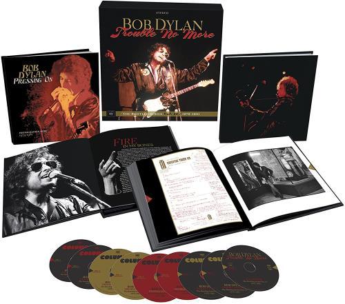 Bob Dylan Trouble No More (The Bootleg Series Vol.13 / 1979-1981) CD Album Box Set UK DYLDXTR743821