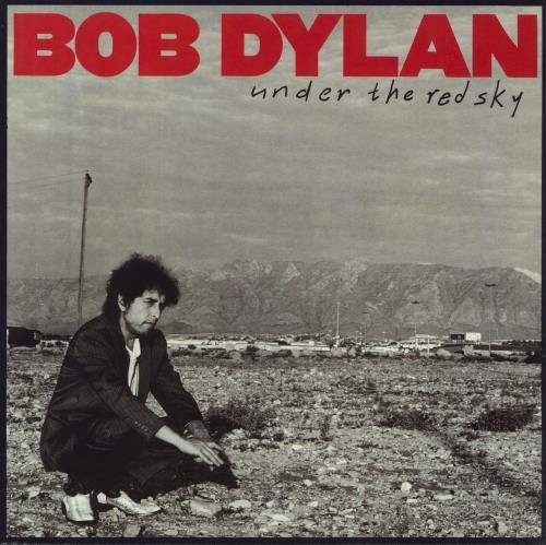 Bob Dylan Under The Red Sky - EX vinyl LP album (LP record) UK DYLLPUN591652