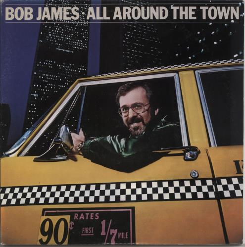 Bob James All Around The Town Live 2-LP vinyl record set (Double Album) Japanese BOJ2LAL722224