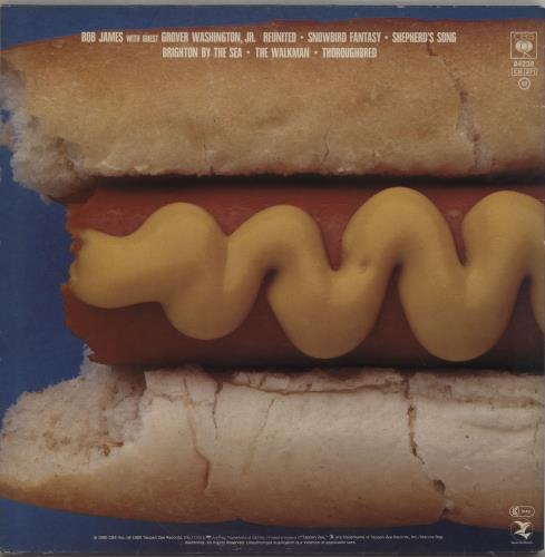 Bob James H vinyl LP album (LP record) Dutch BOJLPH763831