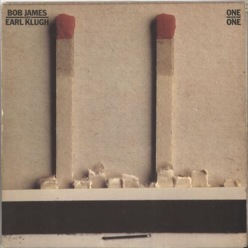 Bob James One On One + Insert vinyl LP album (LP record) UK BOJLPON642917