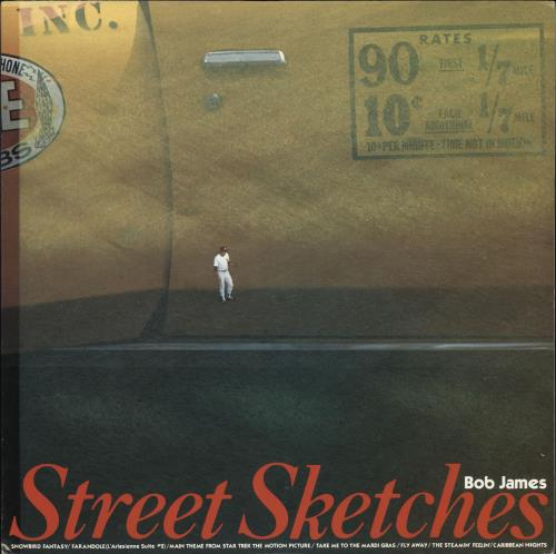Bob James Street Sketches - Bob James Hits 2 vinyl LP album (LP record) Japanese BOJLPST722140