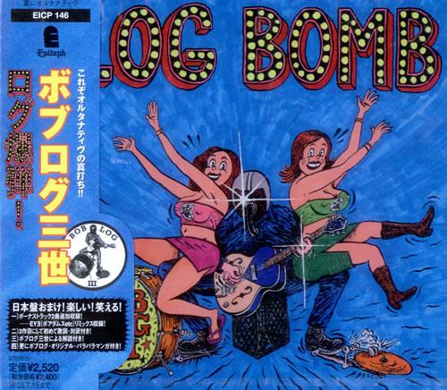 Bob Log III Log Bomb CD album (CDLP) Japanese B3XCDLO504596
