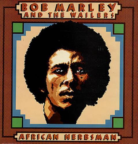 Bob Marley & The Wailers African Herbsman vinyl LP album (LP record) UK BMLLPAF290228