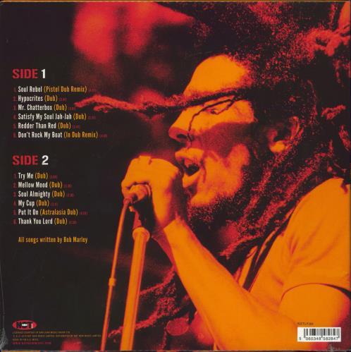 Bob Marley & The Wailers In Dub - 180gram Green Vinyl - Sealed vinyl LP album (LP record) UK BMLLPIN774713