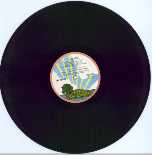 Bob Marley Catch A Fire - 1st Zippo p/s vinyl LP album (LP record) UK BMLLPCA584335