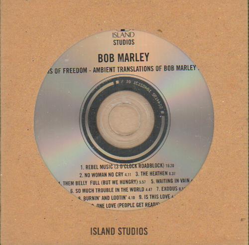Bob Marley Dreams Of Freedom (Ambient Translations Of Marley In Dub) CD album (CDLP) UK BMLCDDR100009