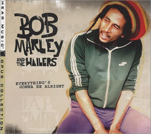 Bob Marley Everything's Gonna Be Alright US CD album (CDLP