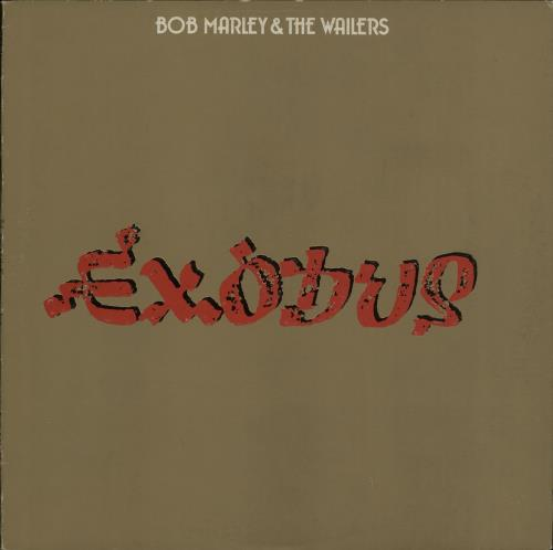 Bob Marley Exodus - 1st - Embossed vinyl LP album (LP record) UK BMLLPEX214419