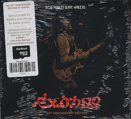 Bob Marley Exodus - 30th Anniversary Edition CD-ROM UK BMLROEX404043