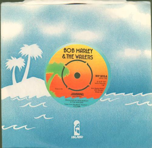 "Bob Marley Jamming 7"" vinyl single (7 inch record) UK BML07JA129550"