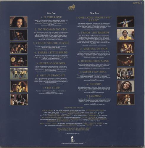 Bob Marley Legend - The Best Of Bob Marley And The Wailers vinyl LP album (LP record) UK BMLLPLE719217