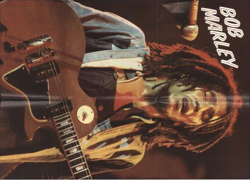 Bob Marley Live! + Poster vinyl LP album (LP record) German BMLLPLI727150