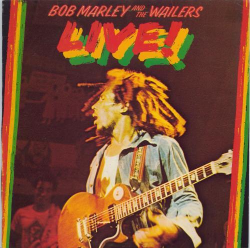 Bob Marley Live! - EX vinyl LP album (LP record) UK BMLLPLI572789