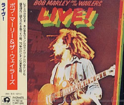 Bob Marley Live! CD album (CDLP) Japanese BMLCDLI235770