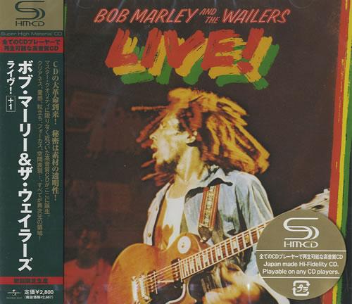 Bob Marley Live! SHM CD Japanese BMLHMLI421570