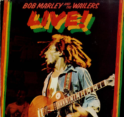 Bob Marley Live! vinyl LP album (LP record) US BMLLPLI551449