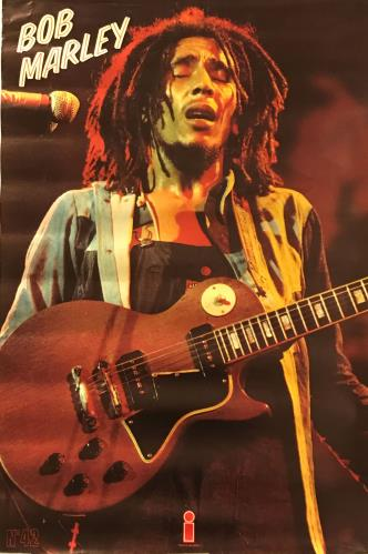 Bob Marley Live! poster UK BMLPOLI674424