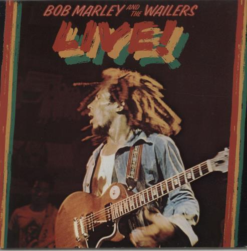 Bob Marley Live! vinyl LP album (LP record) German BMLLPLI676242