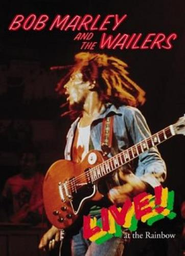 Bob Marley Live At The Rainbow DVD UK BMLDDLI315929