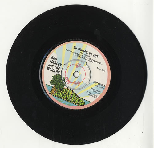 Bob Marley No Woman No Cry Uk Promo 7 Vinyl Single 7 Inch Record