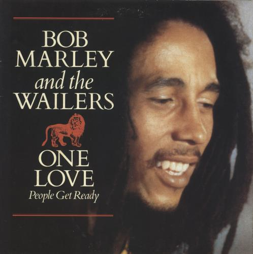 "Bob Marley One Love + poster 12"" vinyl single (12 inch record / Maxi-single) UK BML12ON45334"