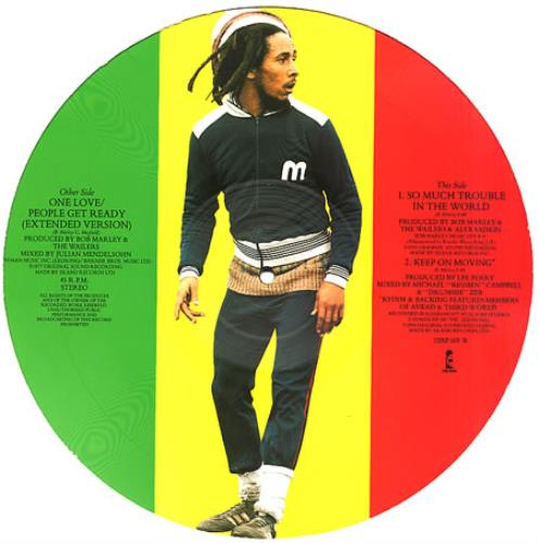 Bob Marley One Love 12 Vinyl Picture Disc 12inch Record UK BML2PON16291
