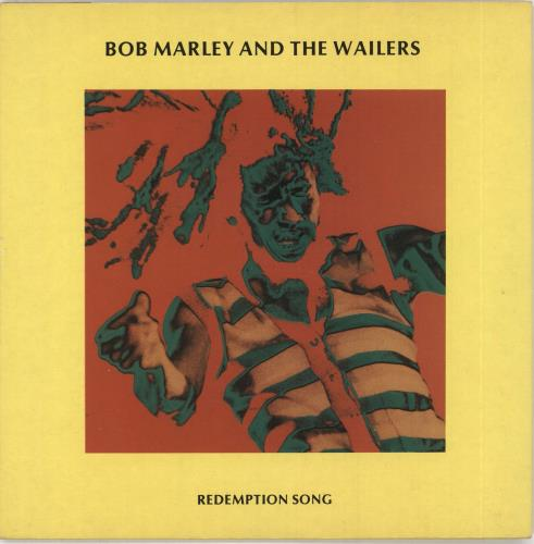 "Bob Marley Redemption Song 7"" vinyl single (7 inch record) UK BML07RE730999"