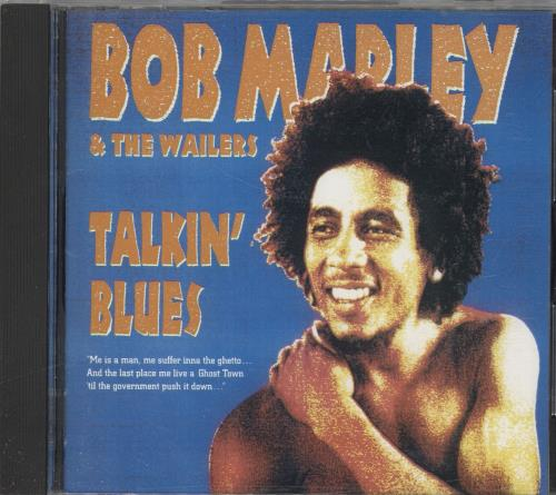 Bob Marley Talkin' Blues CD album (CDLP) Japanese BMLCDTA718733