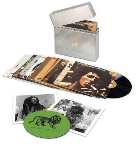 Bob Marley The Complete Island Recordings Vinyl Box Set UK BMLVXTH727581