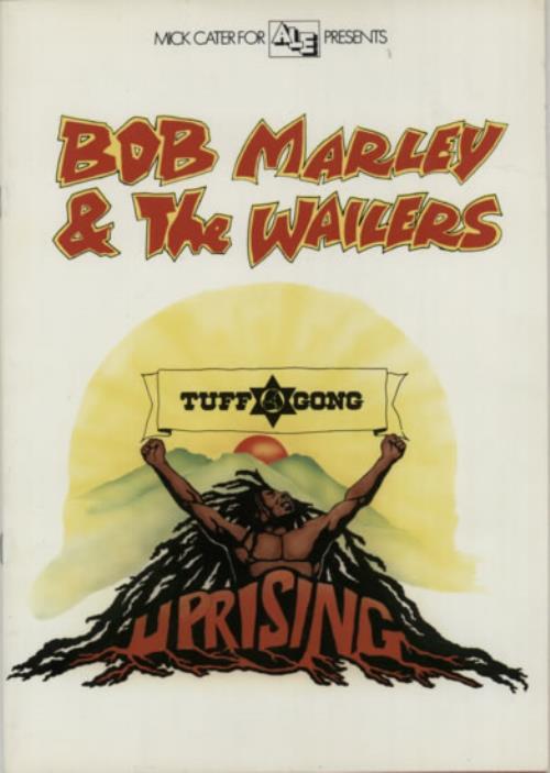 Bob Marley Uprising Tour - EX tour programme UK BMLTRUP623611