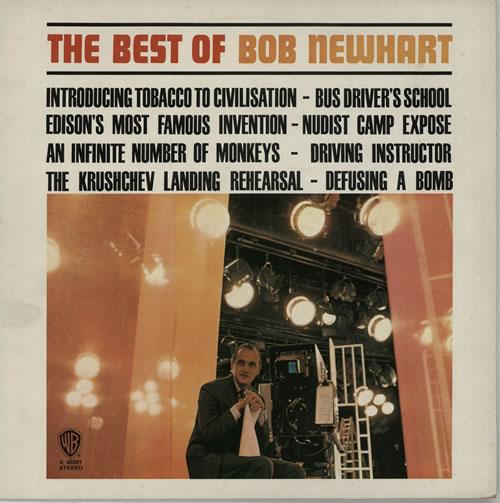 Bob Newhart The Best Of Bob Newhart - Green Label vinyl LP album (LP record) UK NHTLPTH268565