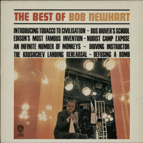 Bob Newhart The Best Of vinyl LP album (LP record) UK NHTLPTH599098
