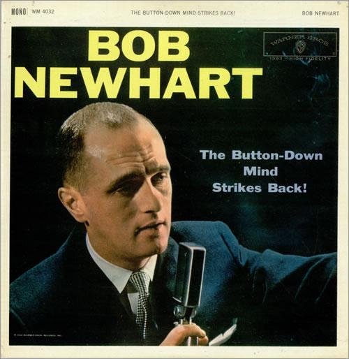 Bob Newhart The Button-Down Mind Strikes Back! vinyl LP album (LP record) UK NHTLPTH476081