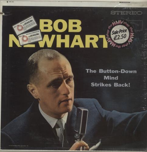 Bob Newhart The Button-Down Mind Strikes Back! vinyl LP album (LP record) US NHTLPTH686758