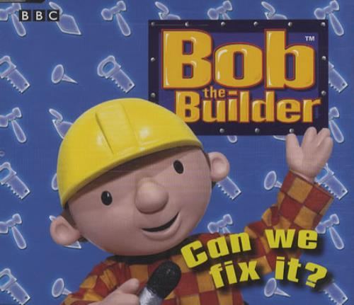 Bob The Builder Can We Fix It? UK CD single (CD5 / 5