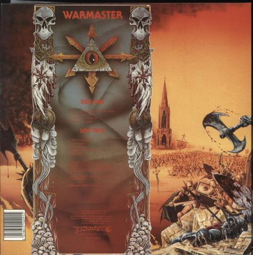 Bolt Thrower War Master vinyl LP album (LP record) UK E0MLPWA608678