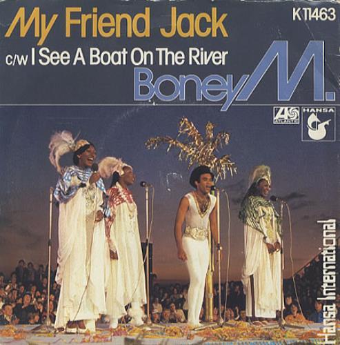 """Boney M My Friend Jack 7"""" vinyl single (7 inch record) UK BOM07MY171970"""