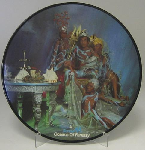 Boney M Oceans of Fantasy picture disc LP (vinyl picture disc album) German BOMPDOC154007