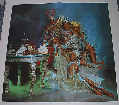 Boney M Oceans Of Fantasy Japanese Promo Vinyl Lp Album