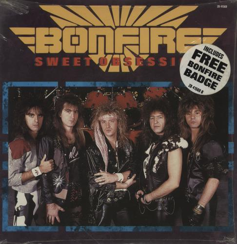 "Bonfire Sweet Obsession 7"" vinyl single (7 inch record) UK BN207SW760618"