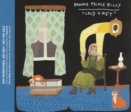 "Bonnie Prince Billy Cold & Wet CD single (CD5 / 5"") UK BPBC5CO411702"