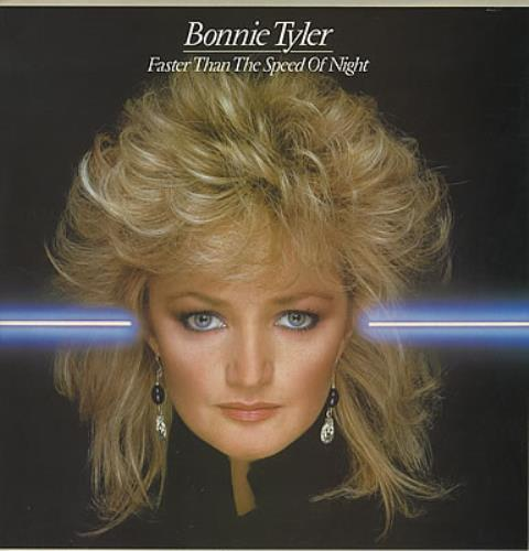 Bonnie Tyler Faster Than The Speed Of Night vinyl LP album (LP record) UK BTYLPFA374031