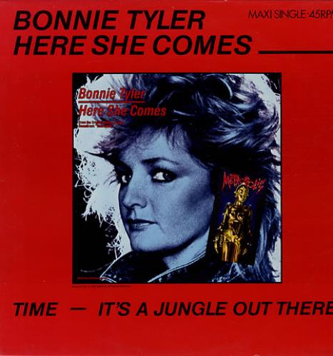 "Bonnie Tyler Here She Comes 12"" vinyl single (12 inch record / Maxi-single) French BTY12HE347177"