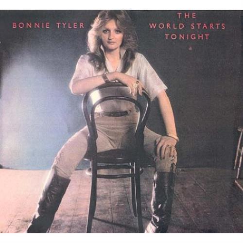 Bonnie Tyler The World Starts Tonight CD album (CDLP) UK BTYCDTH476919