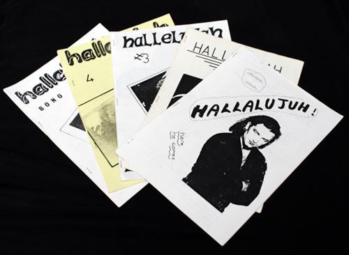 Bono Hallalujah! - 5 Issues fanzine UK BNOFAHA546524