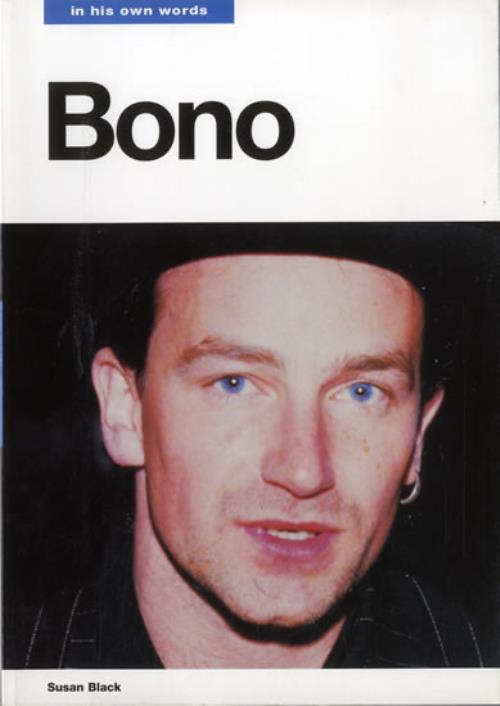 Bono In His Own Words book UK BNOBKIN92026